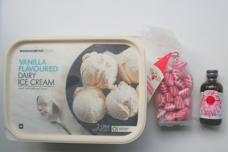 Vanilla Ice Cream - Peppermint Hard Candies -  Peppermint Extract